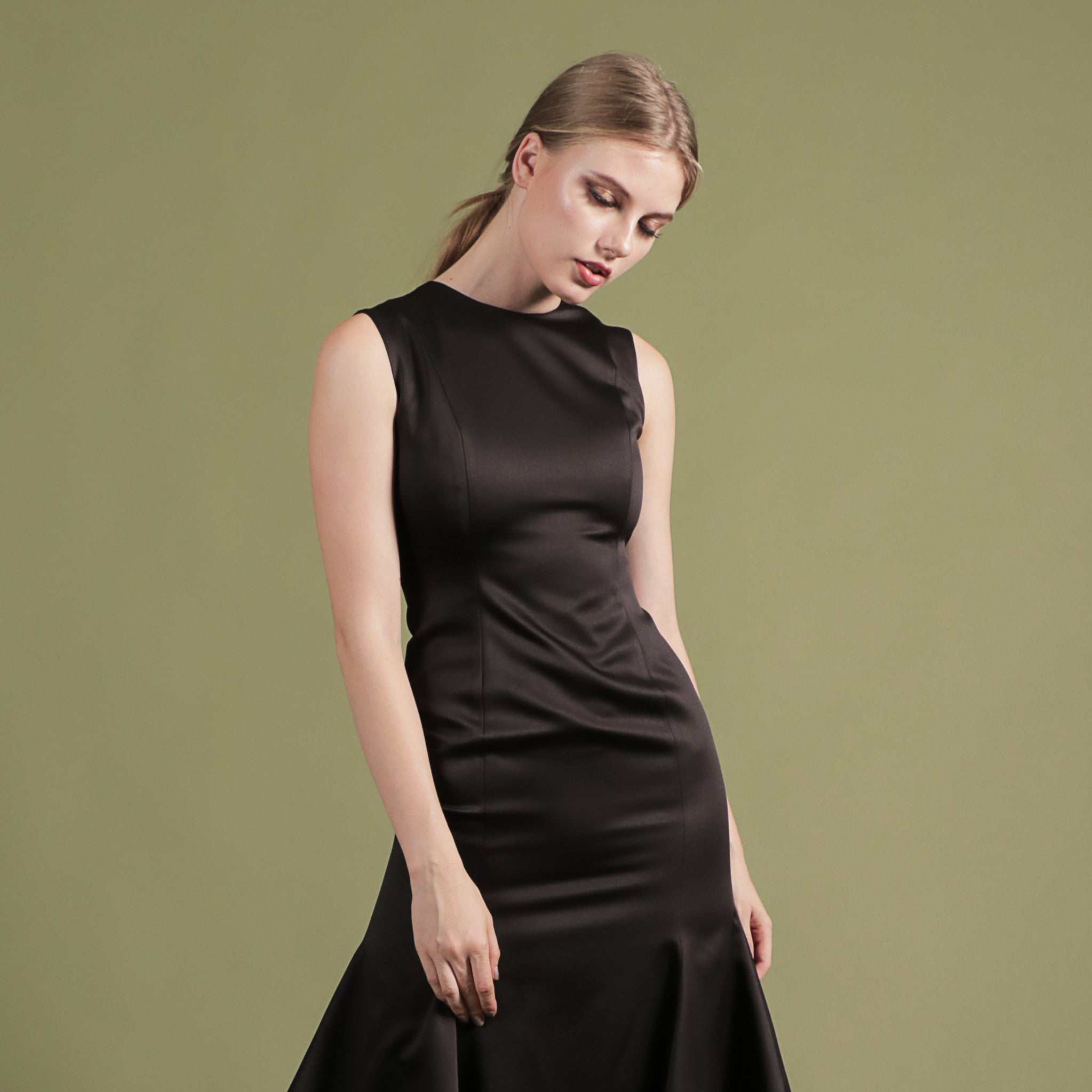 NOIR BY SOIGNÉ<br> MERMAID MIDI DRESS