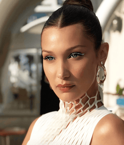 Bella Hadid wearing White Eyeliner | My Makeup Brushes