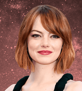 Emma Stone Astrology Makeup
