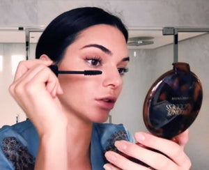 Kendall Jenner Putting On Makeup In a Rush | My Makeup Brushes