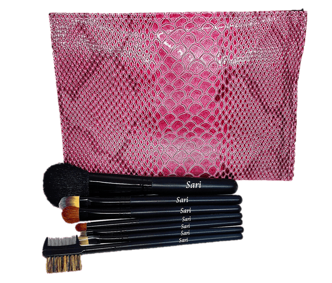 Personalized Travel Makeup Brush Set | My Makeup Brushes