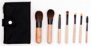 Customized Travel Natural Makeup Brush Set