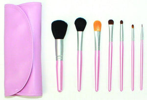 Personalized Perfectly Pink Makeup Brush Set