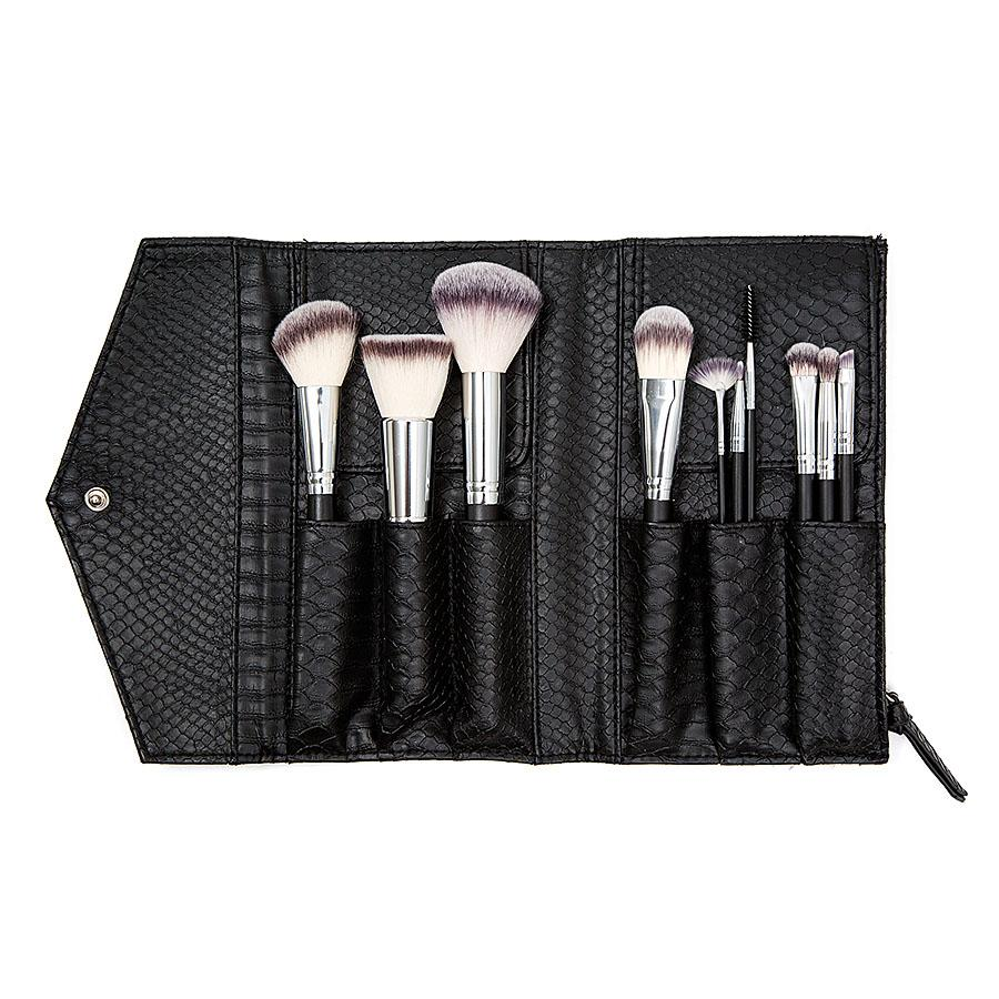 Vegan Onyx Python Brush Set
