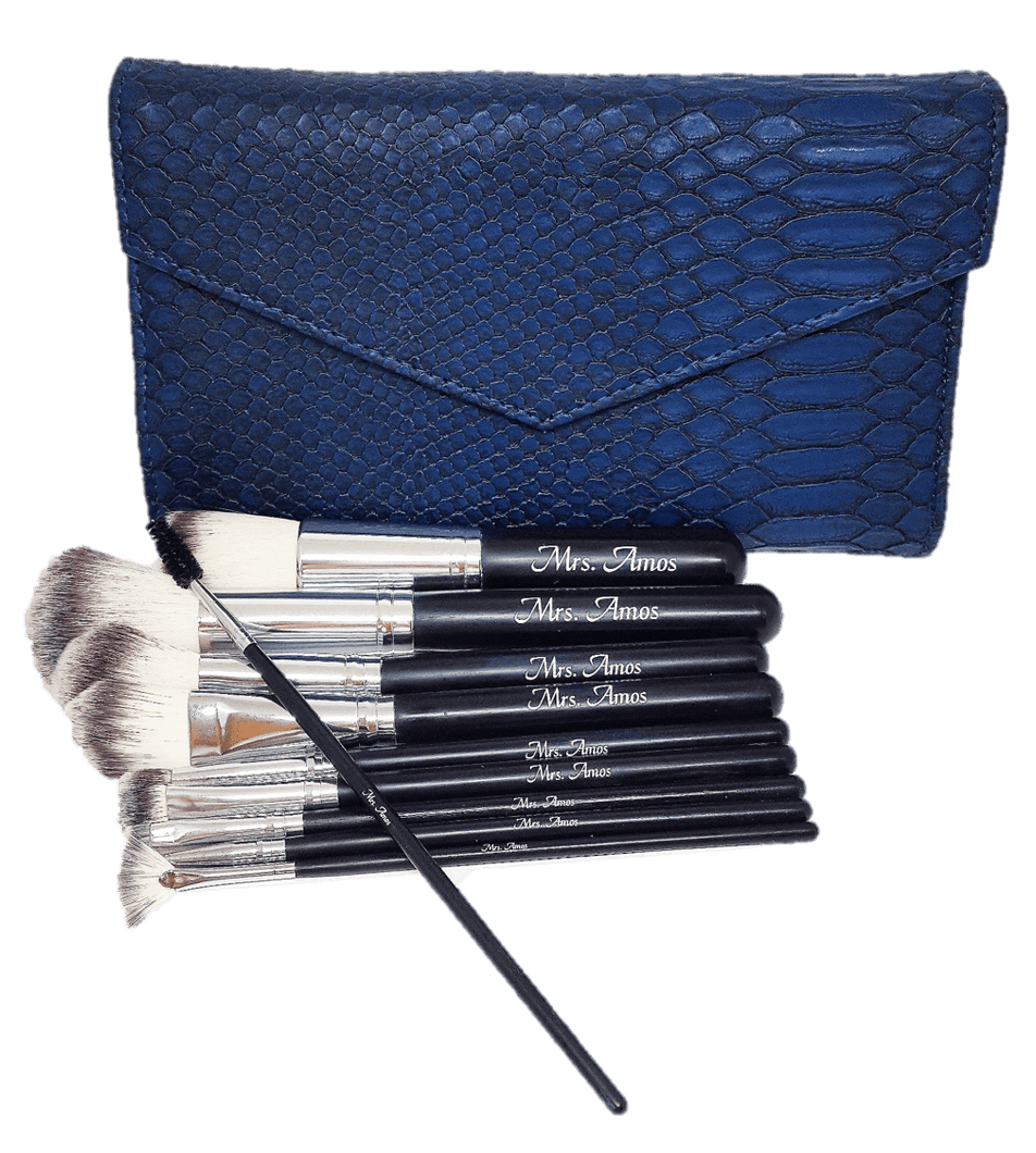 Vegan Sapphire Makeup Brush Set | My Makeup Brushes