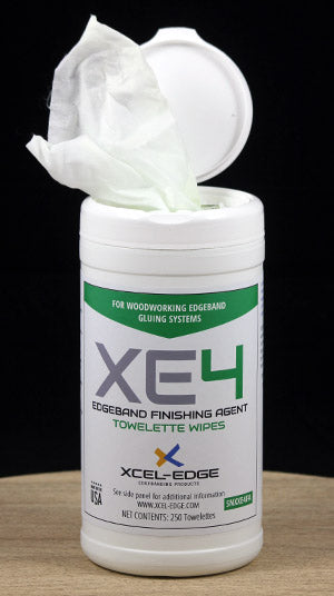 XCEL-EDGE XE4 Finishing Agent Cleaning Wipes