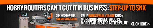 SNX nVentor CNC Routers