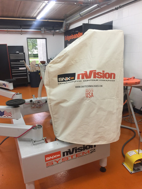 SNX nVision Edgebander Dust Cover