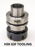 HSK-63F ER40 CNC Collet Chuck Holder with Nut