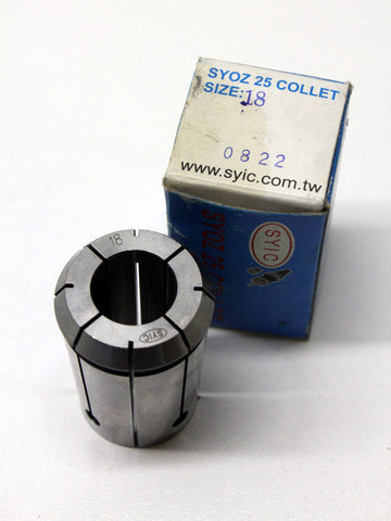 SYOZ-25 18mm Collet
