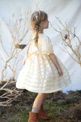 Vivian dress in winter ice