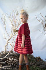 Vivian dress in radiant red