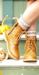 girls vintage style boots