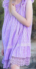 Lana dress in very violet