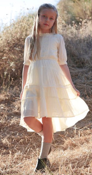 Dreamy Rosalynn dress in powder