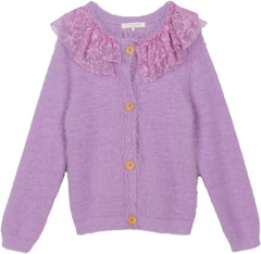 Hello Heidi sweater in periwinkle