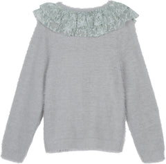 Hello Heidi sweater in harbor gray