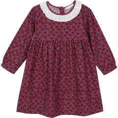 Hazel dress in perfect plum
