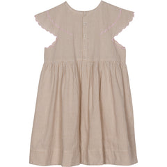 Gloria dress in summer hay check