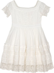 Billy Jean dress in winter white