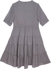 Dreamy Rosalynn dress in harbor gray