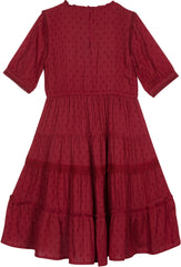 Dreamy Rosalynn dress in currant