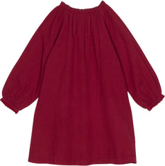 Daisy dress in currant