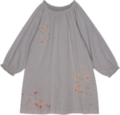 Daisy dress in harbor gray