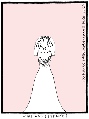 Wedding Regrets Cartoon Comics