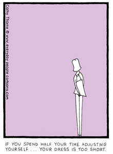 Short Short Dress - Everyday People Cartoons