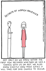 Women's Secrets - Everyday People Cartoons