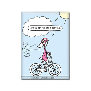 Bicycle Lover Magnet