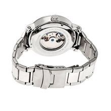 Load image into Gallery viewer, Heritor Automatic Aries Skeleton Dial Bracelet Watch - Silver/White - HERHR4401