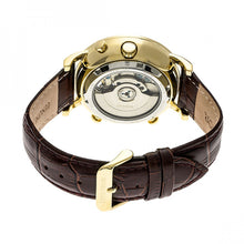 Load image into Gallery viewer, Heritor Automatic Edmond Leather-Band Watch w/Date - Gold/Silver - HERHR6203