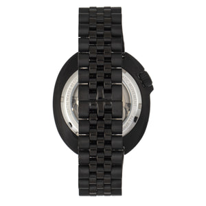 Heritor Automatic Morrison Special Edition Bracelet Watch w/Date - Black - HERHR7615