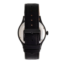 Load image into Gallery viewer, Heritor Automatic Antoine Semi-Skeleton Leather-Band Watch - Black/Charcoal - HERHR8508