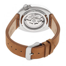 Load image into Gallery viewer, Heritor Automatic Morrison Leather-Band Watch w/Date - Camel/Silver - HERHR7606