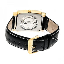 Load image into Gallery viewer, Heritor Automatic Frederick Leather-Band Watch - Gold/Black - HERHR6103
