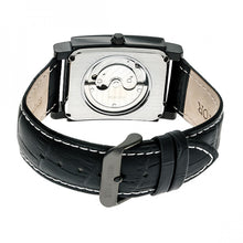 Load image into Gallery viewer, Heritor Automatic Frederick Leather-Band Watch - Black - HERHR6106