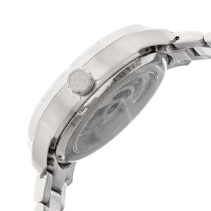 Heritor Automatic Ryder Skeleton Dial Bracelet Watch - Silver/Black - HERHR4608