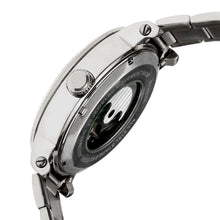 Load image into Gallery viewer, Heritor Automatic Aries Skeleton Dial Bracelet Watch - Silver/Black - HERHR4402