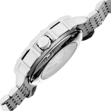 Load image into Gallery viewer, Heritor Automatic Conrad Skeleton Leather-Band Watch - Silver - HERHR2501