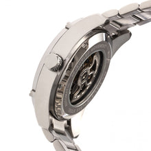 Load image into Gallery viewer, Heritor Automatic Daniels Semi-Skeleton Bracelet Watch - Silver - HERHR7401