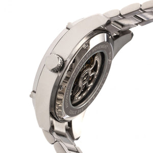 Heritor Automatic Daniels Semi-Skeleton Bracelet Watch - Silver - HERHR7401