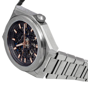 Heritor Automatic Atlas Bracelet Watch - Gray - HERHS1306