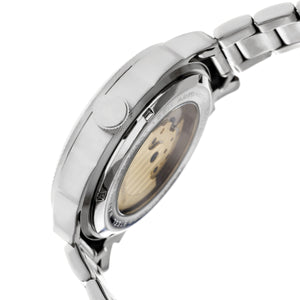 Heritor Automatic Helmsley Semi-Skeleton Bracelet Watch - Silver/White - HERHR5001