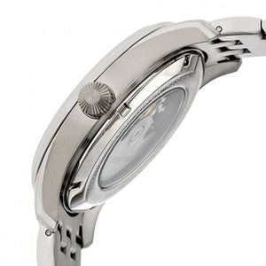 Heritor Automatic Stanley Semi-Skeleton Bracelet Watch - Silver/Black - HERHR6502