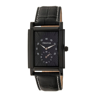 Heritor Automatic Frederick Leather-Band Watch - HERHR6106
