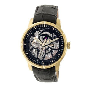 Heritor Automatic Ryder Skeleton Men's Watch