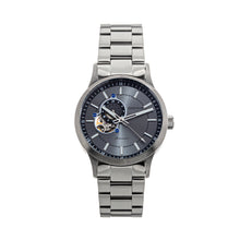 Load image into Gallery viewer, Heritor Automatic Oscar Semi-Skeleton Bracelet Watch - Grey/Silver - HERHS1008